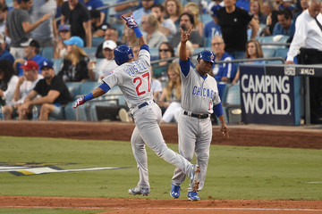 Gary League Championship Series - Chicago Cubs v Los Angeles Dodgers - Game Two