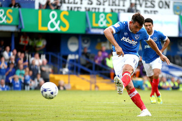 Gary Roberts Portsmouth v Barnet - Sky Bet League Two