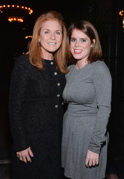 Duchess of York Sarah Ferguson (L) and daughter Princess Eugenie York attend the Gavel&Grand Benefit Auction at The Bowery Hotel on March 26, 2014 in New York City.