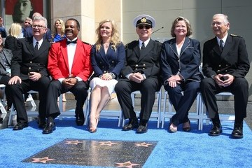 Gavin MacLeod Princess Cruises And The Original Cast of 'The Love Boat' Receive A Hollywood Walk Of Fame Honorary Star Plaque