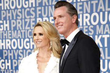 Gavin Newsom Jennifer Siebel Newsom 2018 Breakthrough Prize - Red Carpet