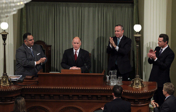 Jerry Brown Delivers California State Of The State Address []
