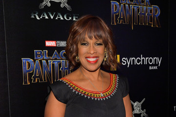 Gayle King The Cinema Society Hosts a Screening of Marvel Studios' 'Black Panther'
