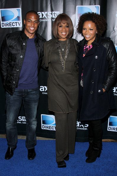 Gayle King with her Children