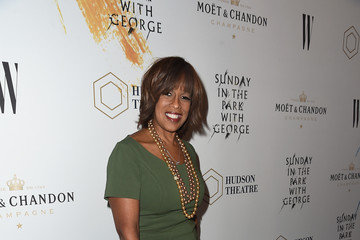 Gayle King Moet & Chandon Celebrates The Hudson Theatre Reopening With Jake Gyllenhaal & Annaleigh Ashford