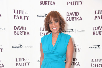 Gayle King David Burtka Celebrates The Launch Of His New Cookbook 'Life Is A Party'