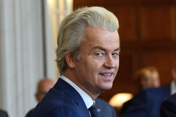 Geert Wilders Dutch Party Leaders Meet After General Election Results