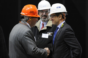 Leo Gerard Geithner Meets With Business And Labor Leaders In Pittsburgh