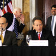 Neal Wolin Geithner Presides Over Meeting Of Financial Stability Oversight Council