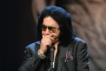 Gene Simmons A Public Memorial Is Held for Music Icon Chuck Berry
