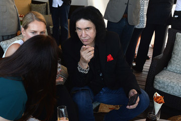 Gene Simmons The Inaugural $12 Million Pegasus World Cup Invitational, the World's Richest Thoroughbred Horse Race at Gulfstream Park