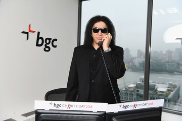 Gene Simmons Annual Charity Day Hosted By Cantor Fitzgerald, BGC and GFI - BGC Office - Inside