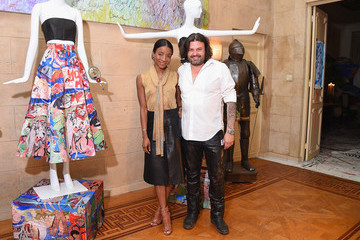 Genevieve Jones The alice + olivia And Domingo Zapata Collaboration