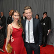 Genevieve Tedder FIJI Water At The 59th Annual GRAMMY Awards