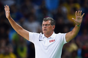 Geno Auriemma Basketball - Olympics: Day 13