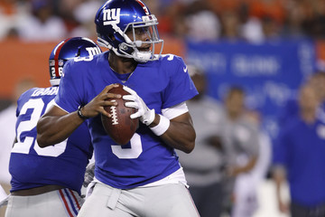 Geno Smith New York Giants v Cleveland Browns