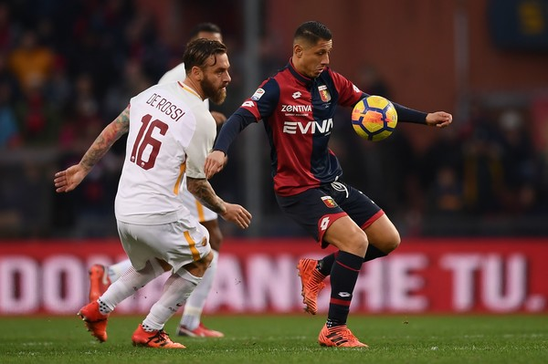Genoa CFC v AS Roma - Serie A