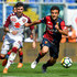 Giuseppe Rossi Photos - Daniele Baselli of Torino and Giuseppe Rossi of Genoa vie for the ball during the serie A match between Genoa CFC and Torino FC at Stadio Luigi Ferraris on May 20, 2018 in Genoa, Italy. - Genoa CFC vs. Torino FC - Serie A