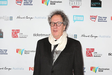 Geoffrey Rush Arrivals at the Helpmann Awards