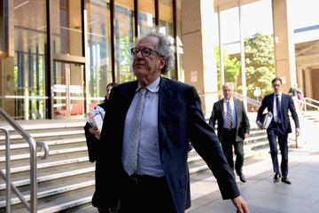Geoffrey Rush Geoffrey Rush Attends Court As Defamation Trial Against 'Daily Telegraph' Draws To A Close
