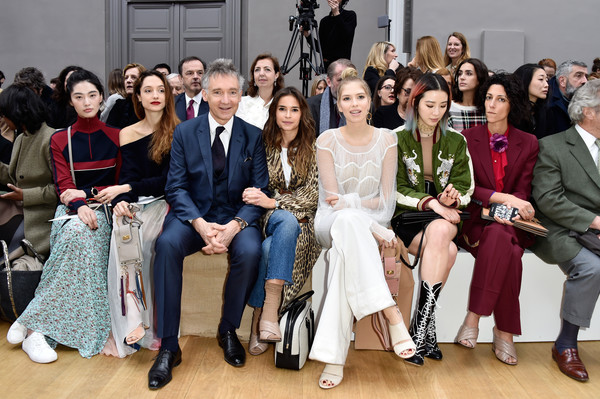 Chloe : Front Row  - Paris Fashion Week Womenswear Fall/Winter 2016/2017
