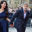 George Clooney and Amal Clooney Photos - 343 of 766
