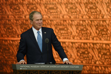 George Bush The National Museum of African American History and Culture Opens in Washington, D.C.