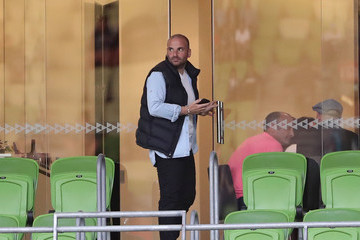 George Calombaris A-League Rd 21 - Melbourne v Adelaide