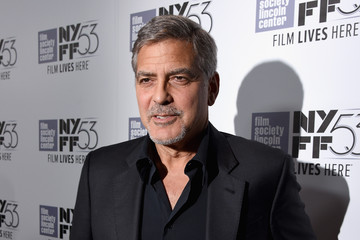 George Clooney 53rd New York Film Festival - 'O Brother, Where Art Thou?' 15th Anniversary Screening - Red Carpet