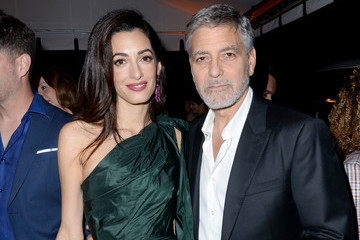 George Clooney Amal Clooney Premiere Of Hulu's 'Catch-22'