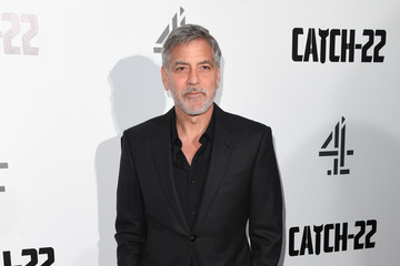 George Clooney 'Catch-22' UK Premiere - Arrivals