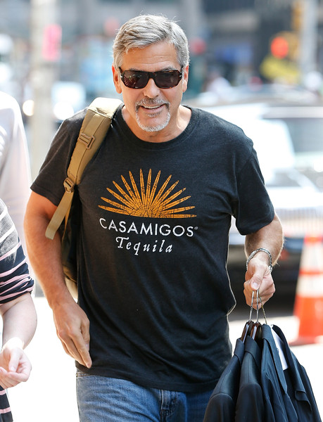 George Clooney attends the First Taping of 'The Late Show With Stephen Colbert'  8th September 2015 George+Clooney+Celebrities+Attend+First+Taping+9fC7Cy8BT4Kl