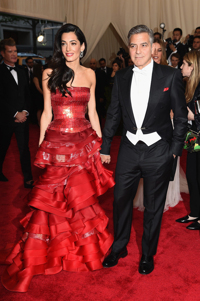 George Clooney at the Met Gala 4th May 2015 - Page 2 George+Clooney+China+Through+Looking+Glass+Bu4Yl3c-_eCx
