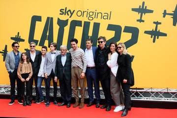 George Clooney Grant Heslov 'Catch-22' Rome Photocall