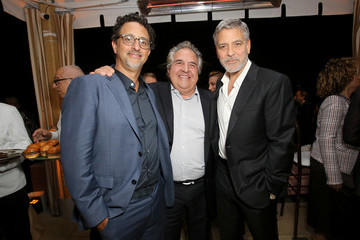 George Clooney Grant Heslov Premiere Of Hulu's 'Catch-22'