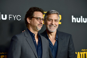 George Clooney Grant Heslov FYC Red Carpet For Hulu's 'Catch-22' - Arrivals