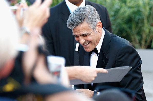 George Clooney and Sandra Bullock at the evening premiere of Gravity at Venice Film Festival George+Clooney+Gravity+Premieres+Venice+c3oNH1D1ioOl