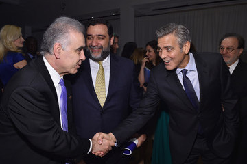 George Clooney 100 LIVES Event: George Clooney Joins Humanitarian Leaders
