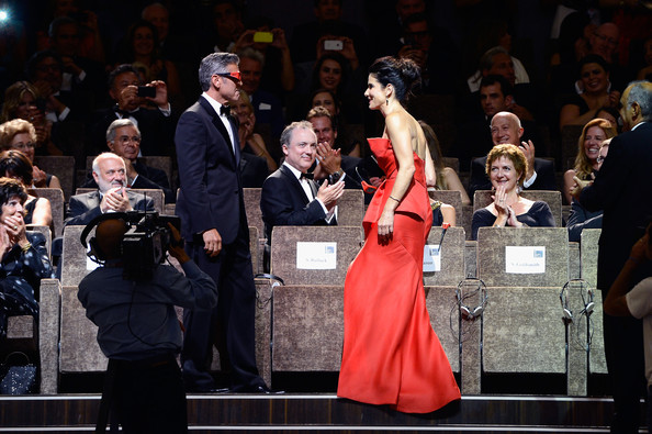 George Clooney and Sandra Bullock at the evening premiere of Gravity at Venice Film Festival George+Clooney+Opening+Ceremony+Inside+70th+NCaUvv-g2ful