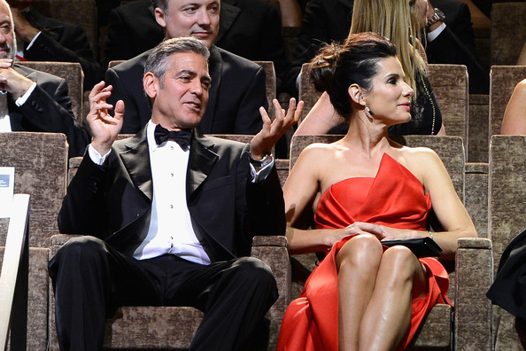 George Clooney and Sandra Bullock at the evening premiere of Gravity at Venice Film Festival George+Clooney+Opening+Ceremony+Inside+70th+je9XZFgsHRll
