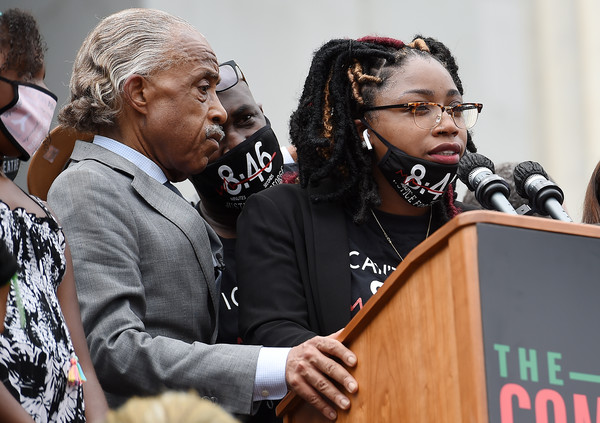 March On Washington To Protest Police Brutality [music,event,music,musician,bridgett floyd,george floyd,musician,philonise floyd,rev. al sharpton,washington dc,l,march on washington to protest police brutality,speech,musician,m]