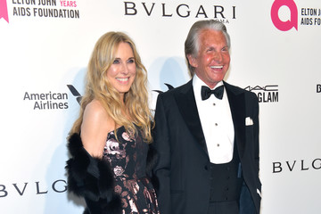 George Hamilton 26th Annual Elton John AIDS Foundation's Academy Awards Viewing Party - Arrivals