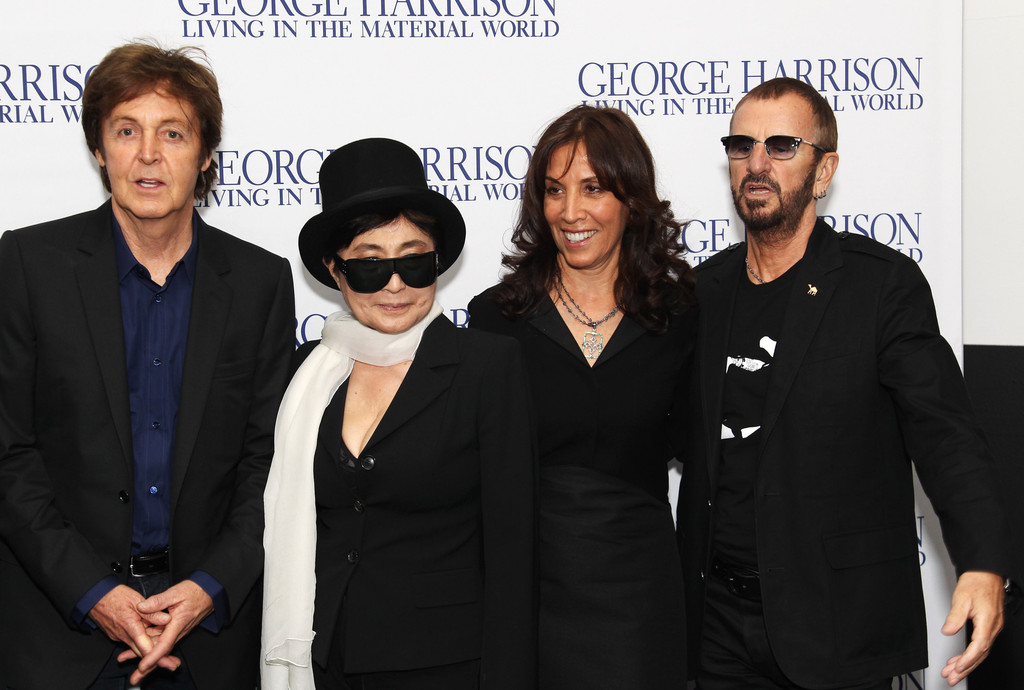 Paul McCartney And Ringo Starr PhotosPhotostream Pictures George Harrison Living In The Material World