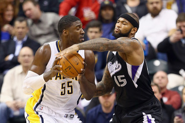 George Hibbert Sacramento Kings v Indiana Pacers