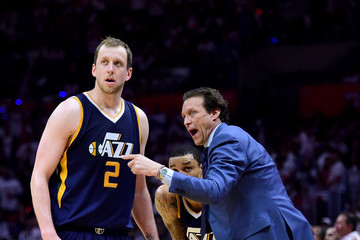 George Hill Utah Jazz v Los Angeles Clippers - Game Two
