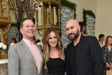 George Malkemus III Gilt And Sarah Jessica Parker Celebrate Exclusive Bridal Collection