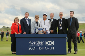 George O'Grady Aberdeen Asset Management Scottish Open - Day Four