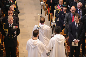 George Osborne Somme 100 Commemorations Take Place in Manchester