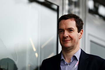 George Osborne F1 Grand Prix of Great Britain