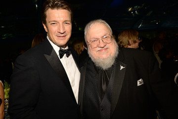 George R.R. Martin HBO's Post Award Reception in LA